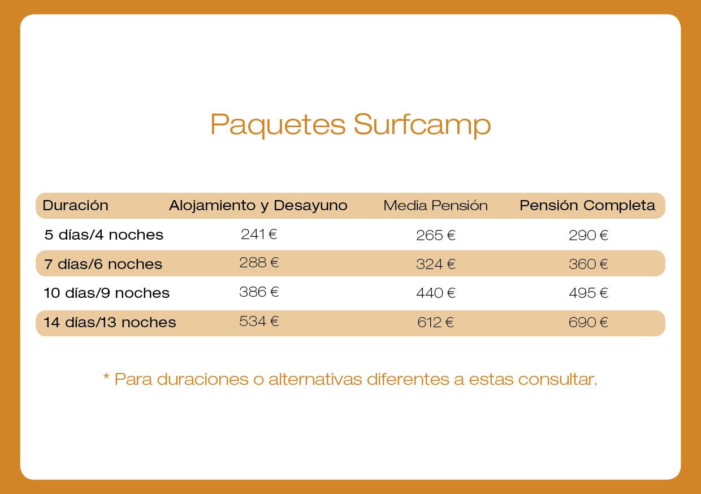 precios surfcamp senegal - ecole surf senegal