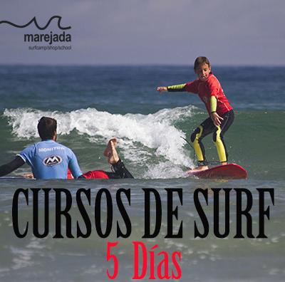 curso surf 5 dias