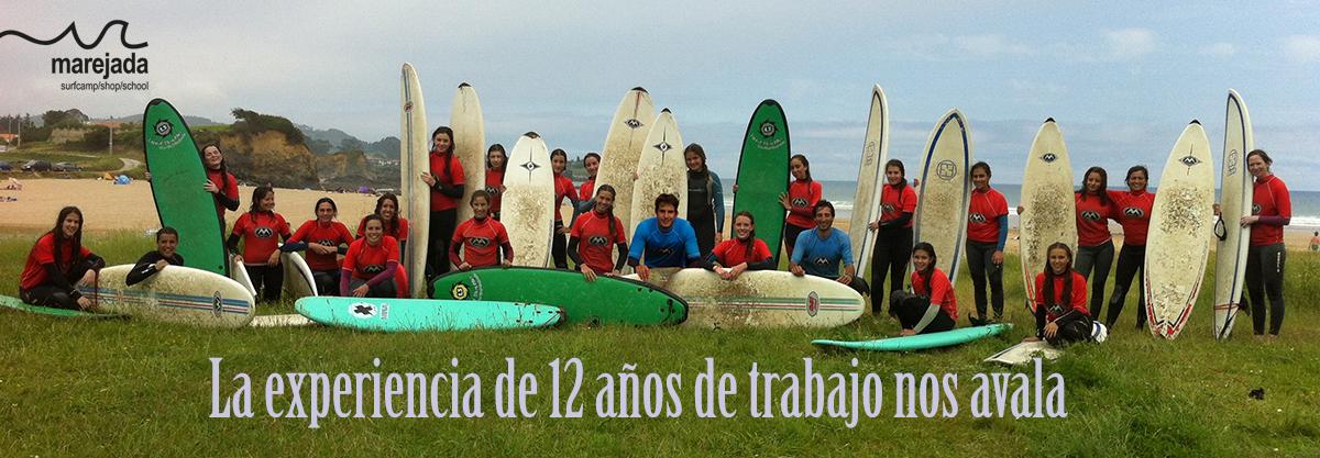 escuela surf cursos marejada