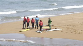 surf camp en Asturias