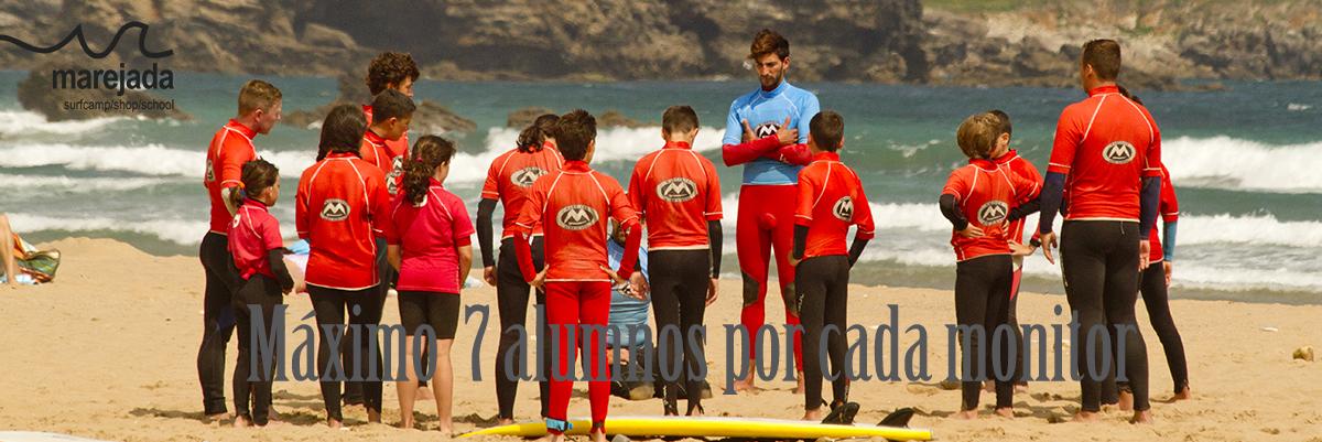 surf clases marejada
