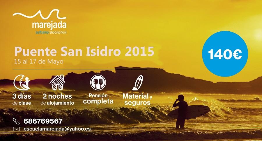Ven a nuestro surfcamp en Asturias en el Puente de San Isidro