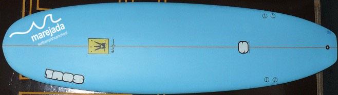 tabla de surf de fibra