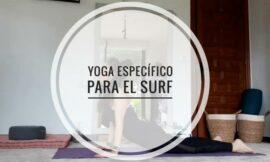 Yoga específico para el surf