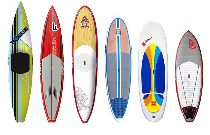 escoger tabla de paddle surf o sup